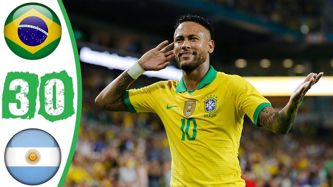 Download Brazil vs Argentina 3 0   All Goals & Highlights