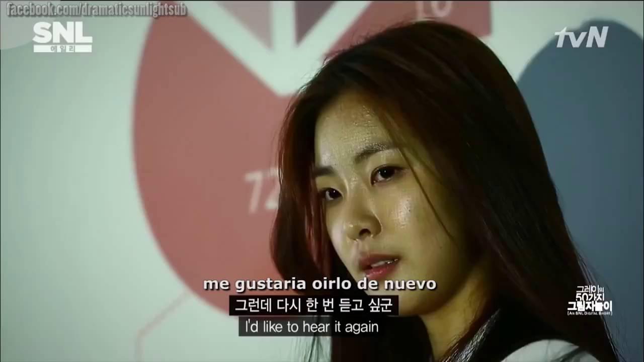 Fifty Shades Of Grey Sa Ay Night Live Korea Sub Espanol