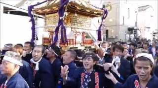 平成27年11月1日撮影。時平神社は長男にあたる。