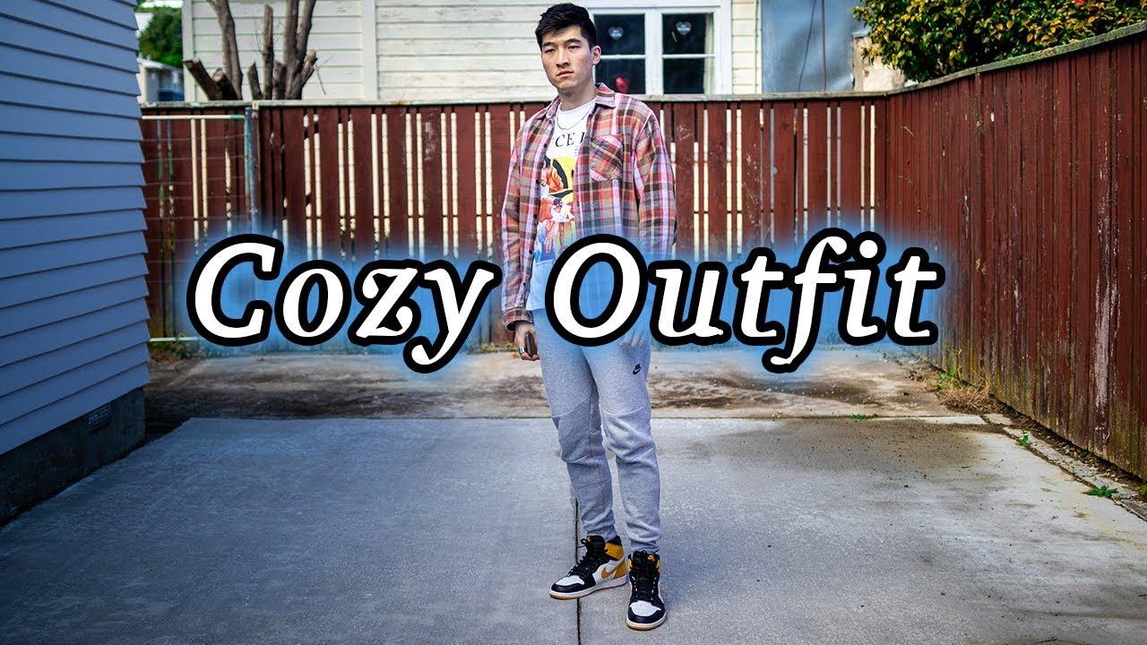 nike fleece outfit