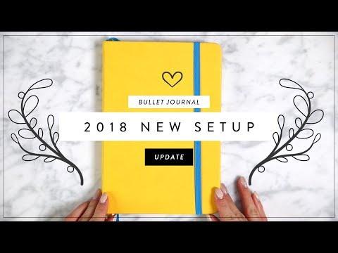 2018 BULLET JOURNAL SETUP & Flip Through | Miss Louie