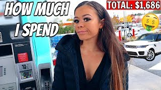 What I Spend In A Week in Seattle as a 21 Year Old | Krazyrayray