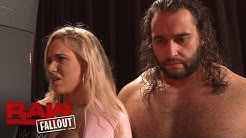 "Rusev and Lana on proving who is the ""bigger man"" on Team Red: Raw Fallout, Nov. 21, 2016"