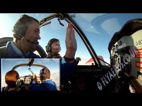 Aerobatic Flying Lesson in the Scottish Aviation Bulldog - Ex Military Trainer