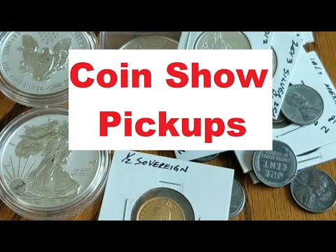 Coin Show Gold & Silver Stack Additions & Coin Collecting - Part 1 - Plus My Spot Price Commentary