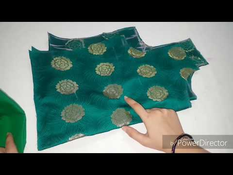 बचे हुए कपड़े से डिजाईनर कुरती बनाएं/Designer kurti cutting and stitching easy way.