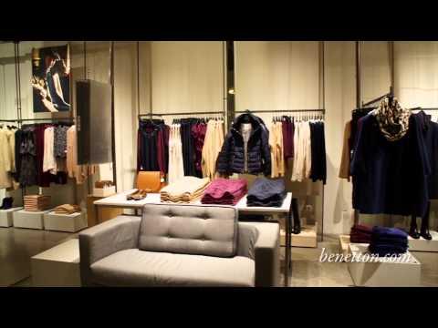 Новый концептуальный магазин United Colors Of Benetton - Москва