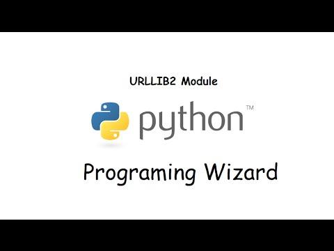python urllib2 module