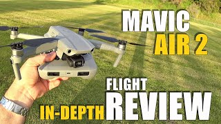 DJI Mavic AIR 2 Flight Test Review IN-DEPTH - How good is it...REALLY!? (BONUS CRASH TEST!)