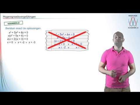 samenvatting kwadratische vergelijkingen from YouTube · Duration:  7 minutes 53 seconds