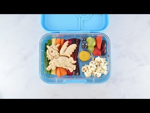 How To Make A Rainbow Unicorn Bento Lunch