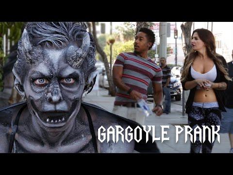 Gargoyle Statue Prank