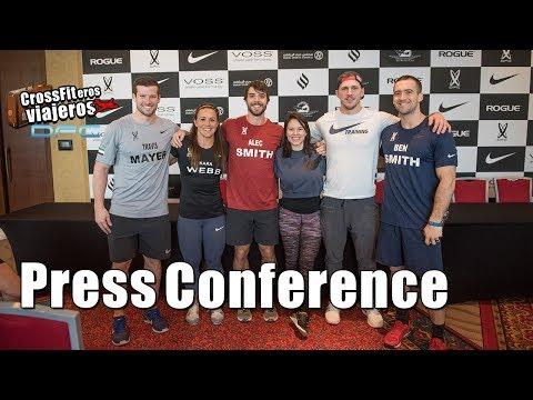 Dubai Fitness Championship 2017 press conference
