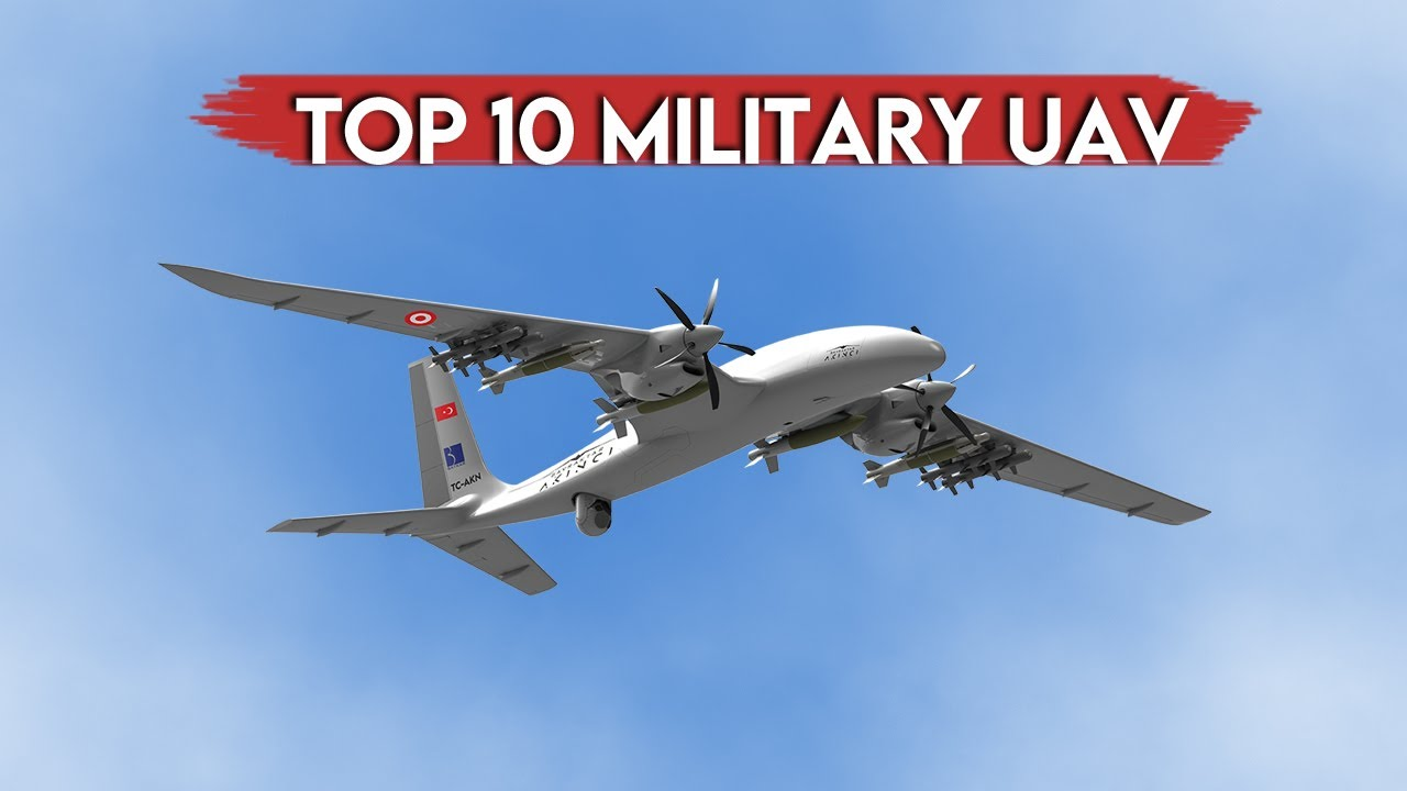 TOP 10 Military Drone UAV UAS - YouTube