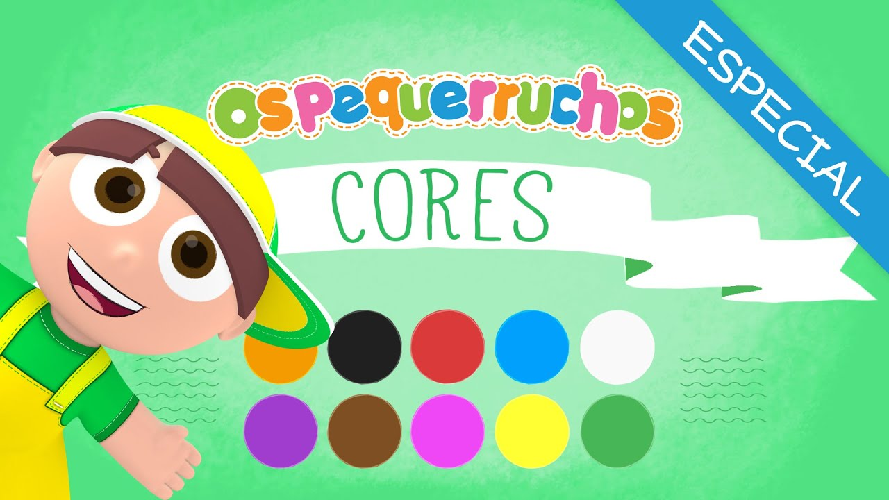 MIX Os Pequerruchos - Cores - Especial 10 Cores