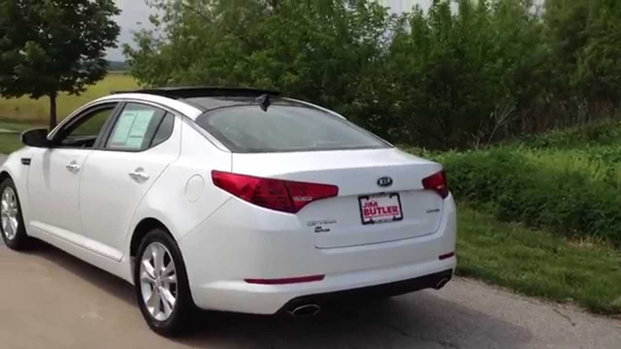 2012 kia optima premium package snow white pearl by ben lindsey youtube. Black Bedroom Furniture Sets. Home Design Ideas