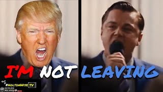 Election 2020 Parody - Donald Trump The Wolf Of Wall Street I'm Not Leaving | This Is #HoltonWi
