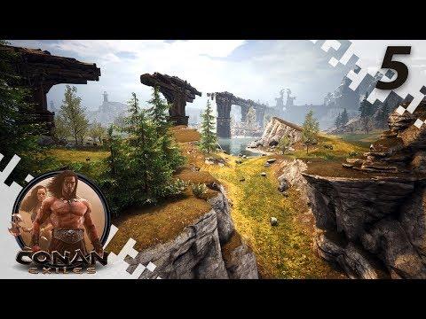CONAN EXILES: THE FROZEN NORTH - Heading North! - EP05