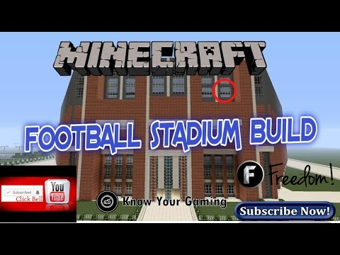 Ps4 -(Minecraft   ) Live Stream (Building A Football Stadium )part 5