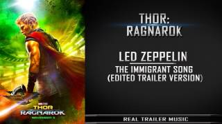Thor: Ragnarok Teaser Trailer #1 Music | Edited Version