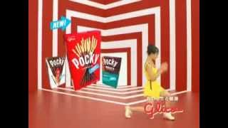 9/30から放送開始された新しいポッキーのCM 出演:忽那汐里 CM曲:ORANG...