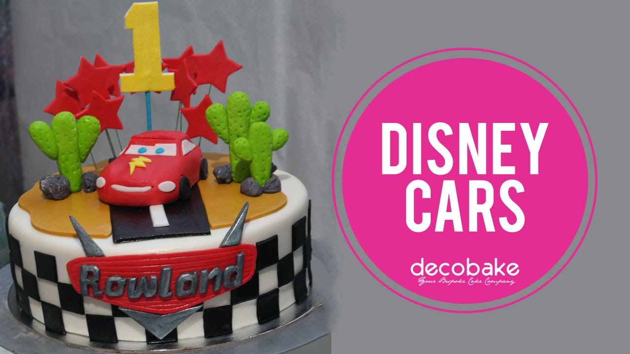 disney cars cake youtube