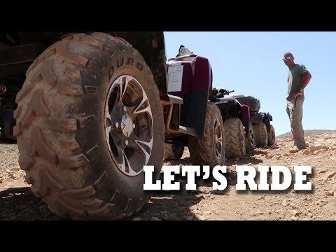 LET'S RIDE   ATV in Lebanon from Faraya to the Cedars