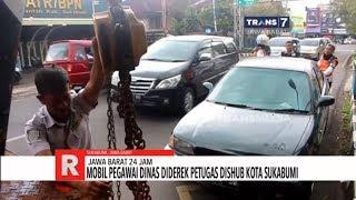 Jabar 24 Jam Tarif Tol Cipali Naik Parkir Sembarangan Mobil Diderek Petugas