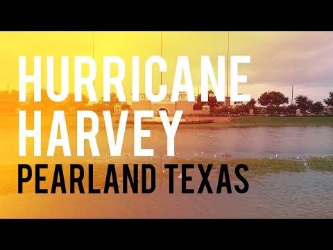 Hurricane Harvey Flooding Part 2 - West Pearland TX 8/27/17