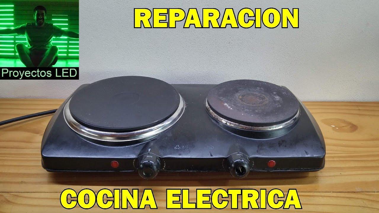 Reparacion De Cocina Electrica Youtube