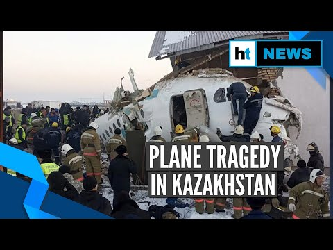Kazakhstan plane crash: At least 14 people killed, several others injured