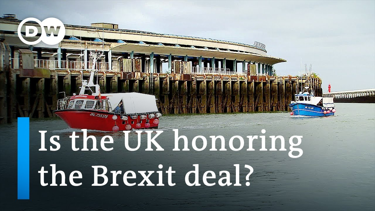 Download France accuses UK of violating Brexit fishing deal | DW News