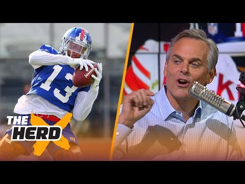Colin Cowherd on Odell's contract talks in New York, the Browns QB spot in 2018  NFL  THE HERD