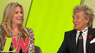Sir Rod Stewart Gets His Own Back on Penny's Candid Loose Women Moments | Loose Women