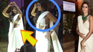 Shweta Bachchan Dance Video RARE SIGHT At Sandeep Khosla's niece Saudamini Mattu wedding goes Viral
