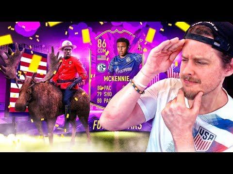 MAD LAD MCKENNIE?! 86 FUTURE STARS MCKENNIE PLAYER REVIEW! FIFA 20 Ultimate Team