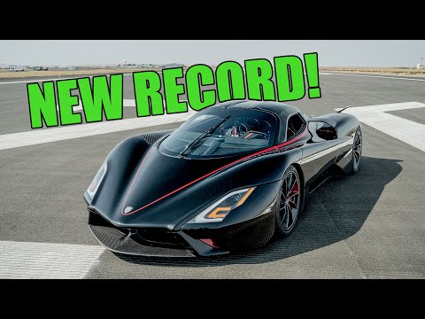 SSC Tuatara Sets NEW WORLD RECORD! Controversy Closed at 282.9mph