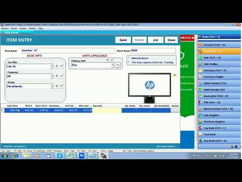 How to create New Items Products in Miracle Pharma Software