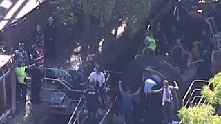 Raw: 4 Killed in Australian Theme Park Accident