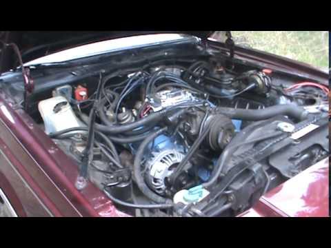 1980 Dodge Mirada: Carb/Intake swap