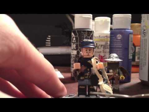 Lego Custom Civil War Union Soldier