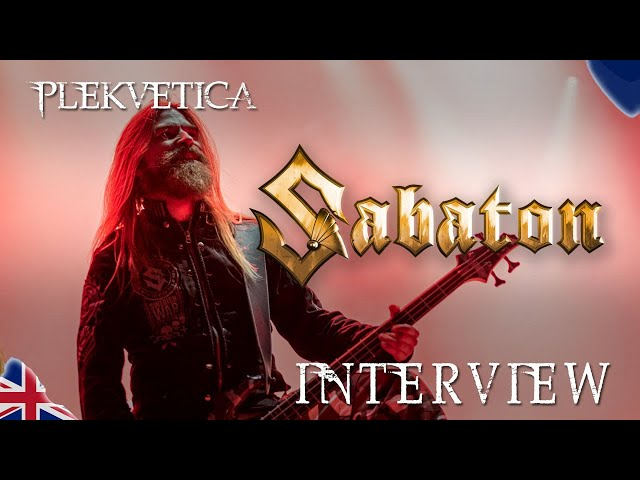 [Interview] Pär Sundström von Sabaton (2019) | Heavy Metal