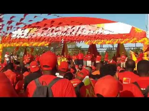 REMERSIMAN par PREZIDAN JAMES MICHEL, Rally, Parti Lepep, Seychelles, Freedom Square, 2016