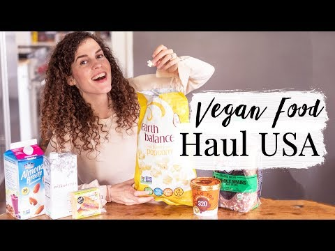 VEGAN FOOD HAUL USA - vegan in Amerika | heylilahey