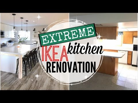 🏘kitchen-remodel-reveal-2018-●-extreme-ikea-kitchen-renovation-2017-●-ikea-kitchen-before-and-after