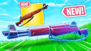 *NEW* INFANTRY RIFLE IS SUPER OP! | Fortnite Best Moments #126 (Fortnite Funny Fails & WTF Moments)