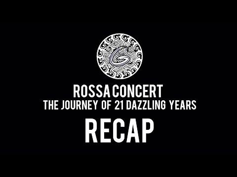 ROSSA CONCERT 'The Journey of 21 Dazzling Years' Recap | GIGI DANCE COMPANY