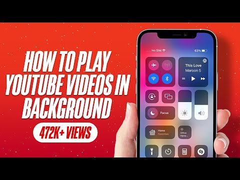 How to Play YouTube Videos in Background on iPhone or iPad Running iOS 12 or Earlier