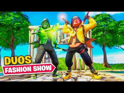 DUO Fortnite Fashion Contest (Winner = $100)