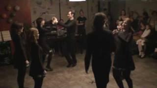 Šola irskega plesa, 8-hand jig